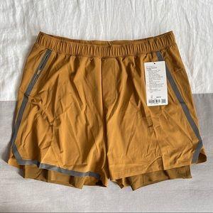 """Lululemon Lined 6"""" Surge Shorts NWT"""